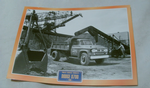 Dodge D700 1958 Tipper Truck framed picture